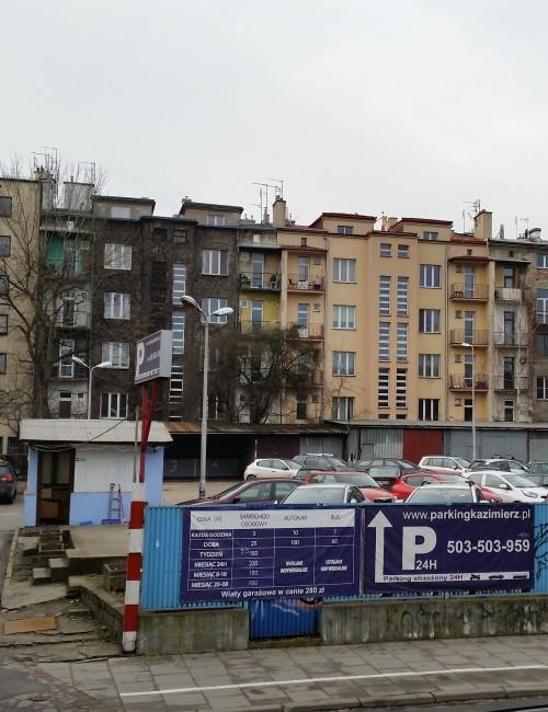 parking dla autokarow krakow kazimierzl